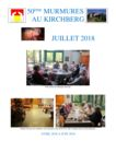 thumbnail of Murmures juillet 2018