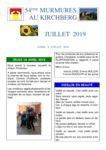 thumbnail of Murmures juillet 2019